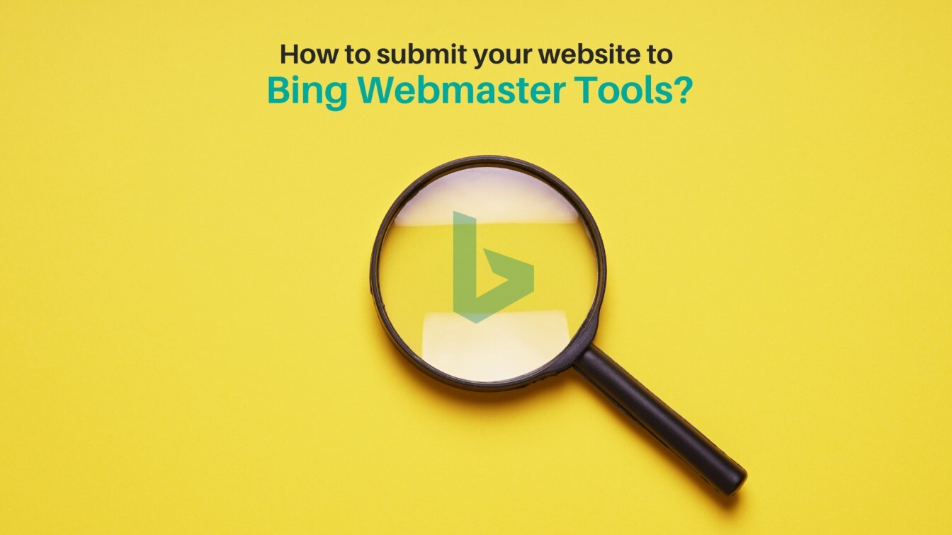 Submit your website to Bing