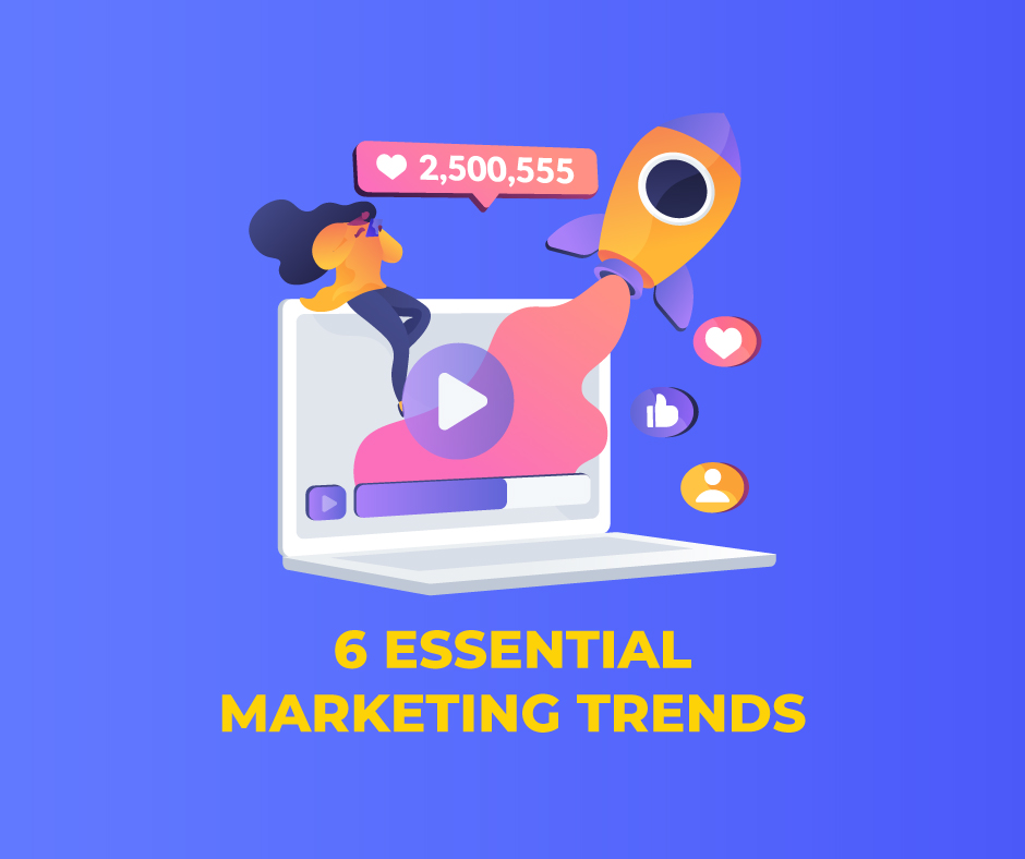 6 ESSENTIAL MARKETING TRENDS FOR 2020