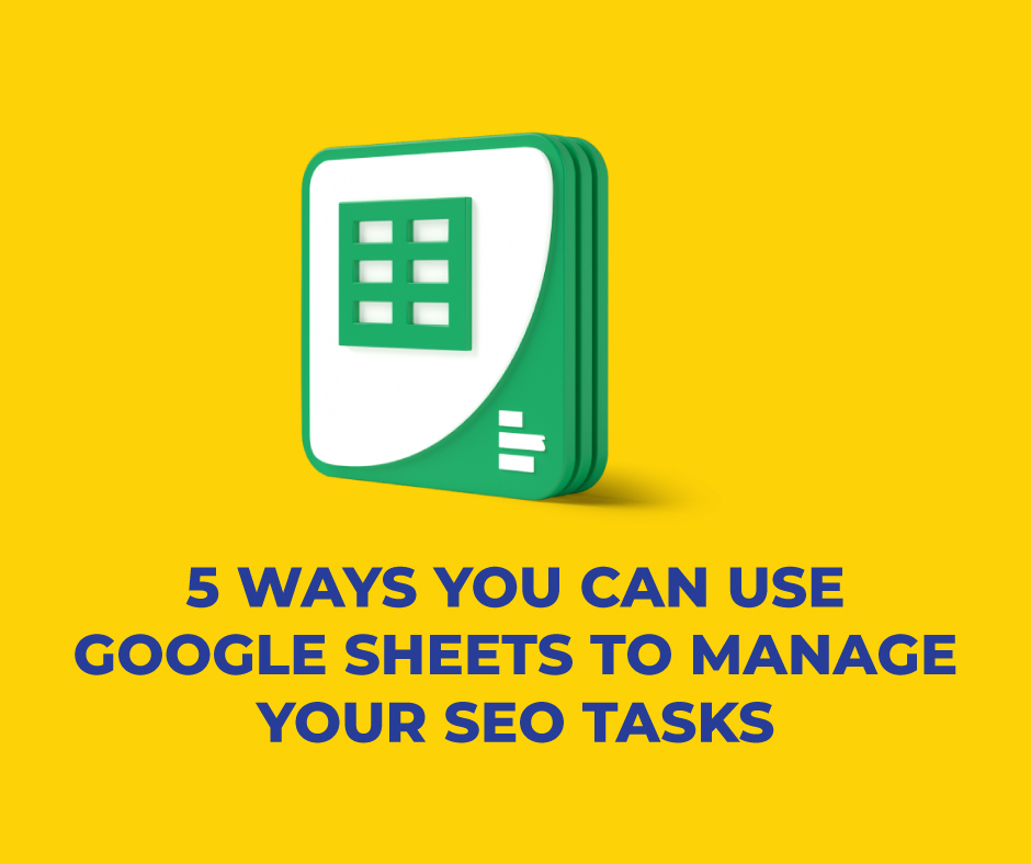 Google sheet seo tâches